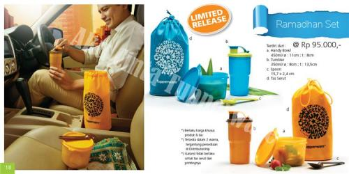 Ramadhan set Tupperware