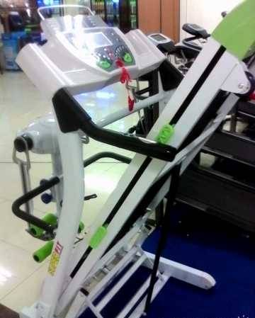 Promo Alat Joging Grosir Murah (Treadmil Electric 4 In 1 Super FIT)