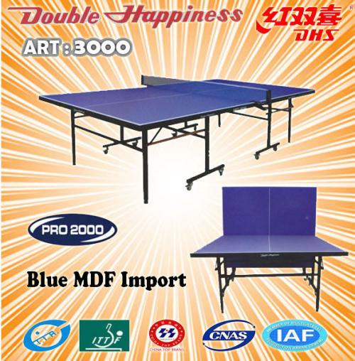 Tenis Meja Pingpong ( DHS ) DOUBLE HAPPINESS ART 3000