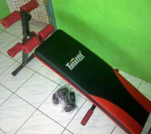 Alat Fitnes Pull Up Sit Up Bench Total Fit Murah PROMO Akhir Tahun