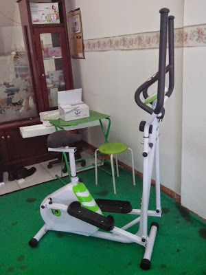 Sepeda Fitnes Statis Elliptical Bike Magnetic 2in1 Like Shaga Aibi Treadmil