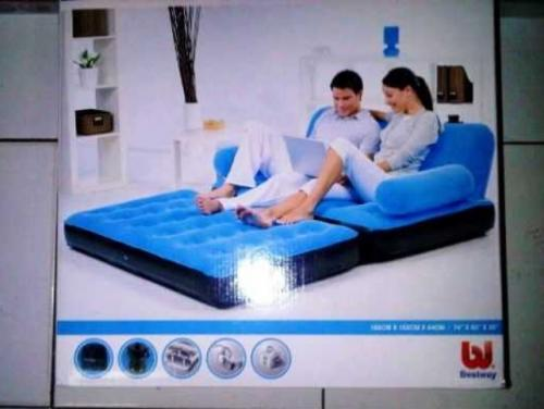 Kasur udara bestway Sofa bed murah minimalis Kasur Angin 2in1 Single Double