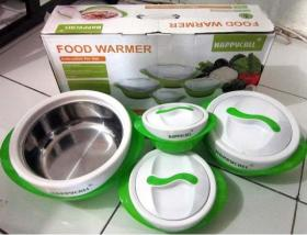 Tempat Makan Thermo Kontainer Anti panas Food Warmer happycall Murah Ada toko