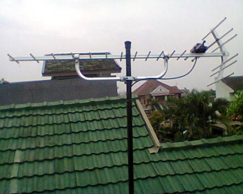 BIG SALE - Pasang antena Tv Area ujung aspal