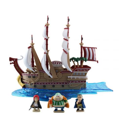 Bandai One Piece POP The Red Force Pirate Ship 13 cm