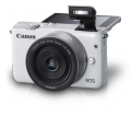 Canon EOS M10 Mirrorless Lensa KIT EF-M15-45mm