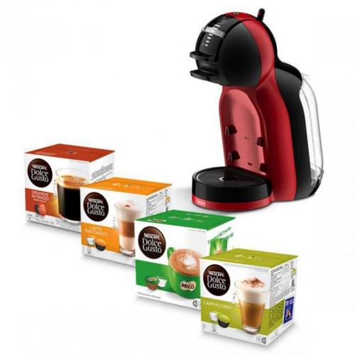 Nescafe Dolce Gusto Mini Me Black Cherry + 6 Box Capsules