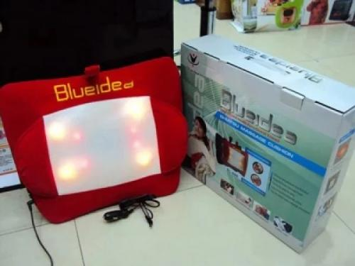 Blue Idea Bantal Pijat Infra Merah Murah Blueidea Massage Cushion Shiatsu JZL