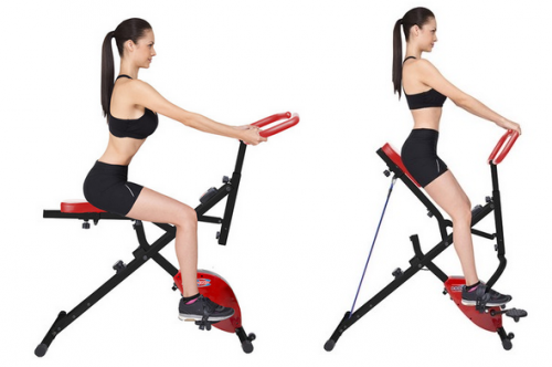 Body Crunch 2 in 1 Murah Excider Bike Lejel Magic Sepeda Statis Olahraga Fitness