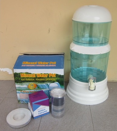 Mineral Water Pot 16 Liter Murah Bio Energi Pure It Dispenser Filter Air