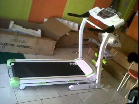 Treadmill Super Fit 4 Fungsi Murah Alat Treadmil Elektrik 4 in 1 Olahraga Joging