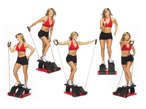 Alat Fitness Mini Stepper Jaco Air Climber Body Shapper TERLARIS
