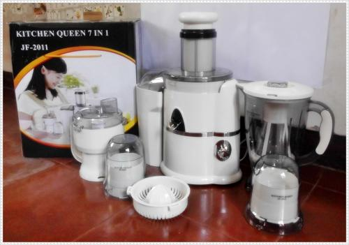 Queen S Slow Juicer : Kitchen Queen 7 in 1 Blender Power Juicer Moegen Jaco Pencacah Daging Termurah - Katalog Produk