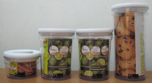 Storage Jar Parcel Cantik Oxone OX 302 Murah Toples Teeter Board