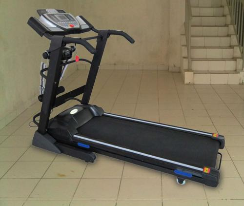 Treadmill Elektrik Running Board Gym Tretmill 3 in 1 Shaga Papan Lari