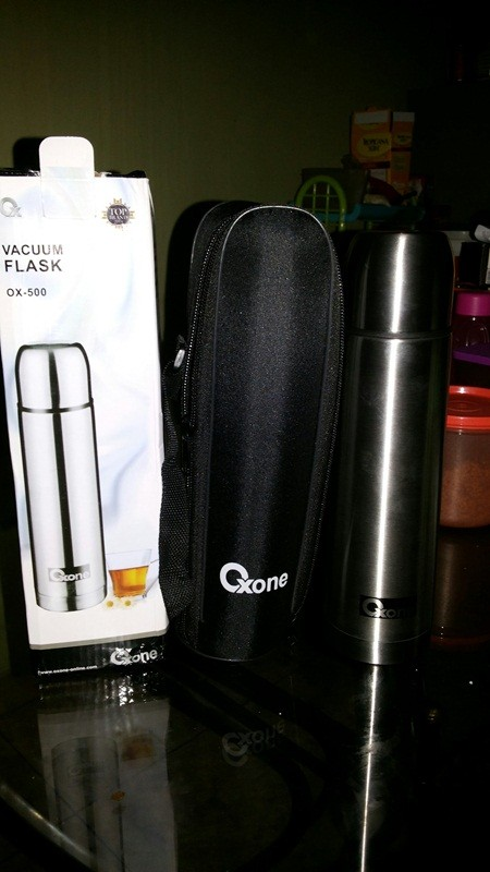 OX 1.0 Vacuum Flask Oxone Termos Air Minum Stainless Steel Decanter Portable 2 In 1 ...