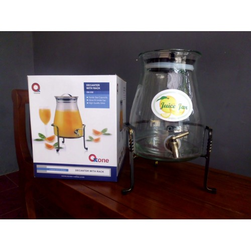Oxone OX332 Sale Ramadhan Tempat Air Decanter Kaca Wadah Minuman Juice